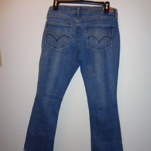 Levi's 524 Too Superlow Boot Cut Jeans Size 11